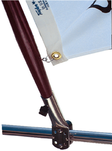 RAIL MOUNT FLAG SOCKET (#32-968) - Click Here to See Product Details
