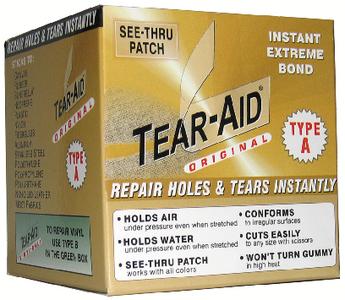 TEAR REPAIR INC TEAR-AID ROLL TYPE A 3IN X 5' (D-ROLL-A-20)