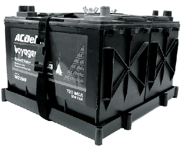 DUAL GROUP 27 BATTERY TRAY (#232-DBH27PDP) - Click Here to See Product Details