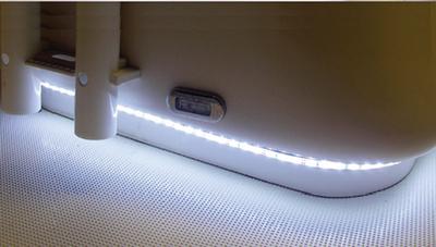 T-H MARINE LED ROPE LIGHT 22FT WHITE (LEDSM22W)