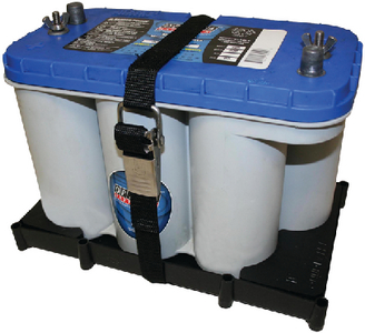 BATTERY HOLDER TRAY FOR OPTIMA<sup>®</sup> BATTERIES (#232-NBH31SSCOPT) - Click Here to See Product Details
