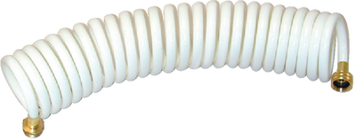 COILED WASH DOWN HOSE (#232-WDHBR15WBDP) - Click Here to See Product Details