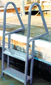 GALVANIZED DOCK LADDER (#241-28275) - Click Here to See Product Details