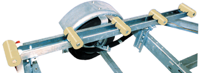 ROLLER BUNKS WITH HULL SAV'R ROLLERS (#241-86157) - Click Here to See Product Details