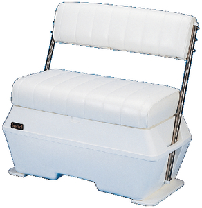TODD DELUXE SWINGBACK COOLER / LIVEWELL SEAT (#100-179218U) - Click Here to See Product Details