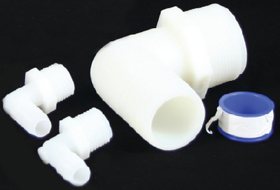 WATER TANK PIPE TO HOSE ADAPTER KIT (#100-932223) - Click Here to See Product Details