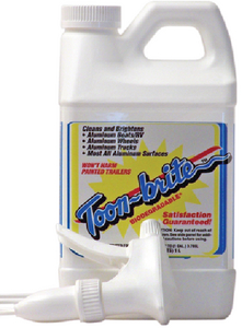 PONTOON & ALUMINUM BOAT CLEANER - Click Here to See Product Details