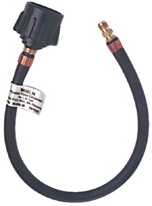LPG PIGTAIL HOSE - QUICK CLOSING COUPLING (#606-1014141520) - Click Here to See Product Details