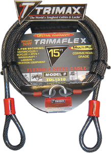 DUAL LOOP QUADRA BRAID TRIMAFLEX CABLE  (#255-TDL1510) - Click Here to See Product Details