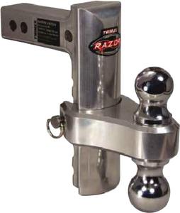 TRIMAX LOCKS 4IN ADJUST AL-RP BALL MOUNT (TRZ4AL-RP)