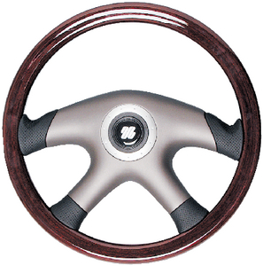 MAHOGANY STEERING WHEEL (#216-LAMPEDUSA) - Click Here to See Product Details