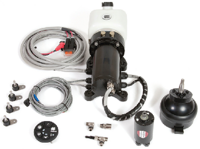 MASTER DRIVE<sup>TM</sup> PACKAGED POWER ASSISTED STEERING SYSTEM - OUTBOARD (#216-MD32T) - Click Here to See Product Details