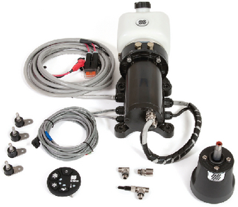 MASTER DRIVE<sup>TM</sup> PACKAGED POWER ASSISTED STEERING SYSTEM - OUTBOARD (#216-MD40FM) - Click Here to See Product Details