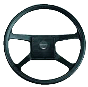 BLACK STEERING WHEEL (#216-V33N) - Click Here to See Product Details