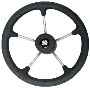 NON-MAGNETIC STAINLESS STEEL STEERING WHEEL (#216-V70B) - Click Here to See Product Details