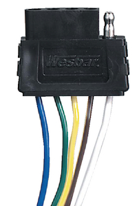 5-WAY ELECTRIC WIRE HARNESS CONNECTOR (#274-702305) - Click Here to See Product Details