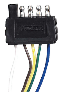 5-WAY ELECTRIC WIRE HARNESS CONNECTOR (#274-707283) - Click Here to See Product Details