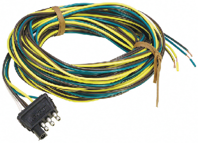 4-WAY ELECTRIC WIRE HARNESS CONNECTOR (#274-707285) - Click Here to See Product Details