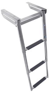 UNDER PLATFORM TELESCOPING SLIDE MOUNT LADDER (#332-SM3X) - Click Here to See Product Details