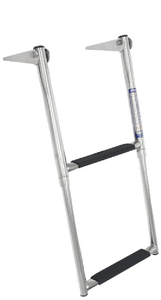 OVER PLATFORM TELESCOPING LADDER (#332-TDL2X) - Click Here to See Product Details