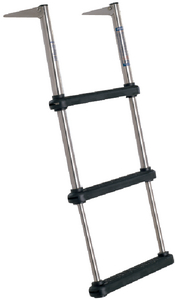 OVER PLATFORM TELESCOPING LADDER (#332-TDL3) - Click Here to See Product Details