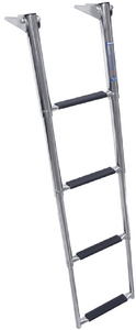OVER PLATFORM TELESCOPING LADDER (#332-TDL4X) - Click Here to See Product Details