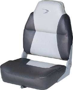 WISE SEATING HIGH BACK SEAT GREY/CHARCOAL (8WD640PLS664)