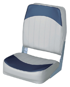 ECONOMY HIGH BACK FOLD DOWN FISHING CHAIR (#144-8WD781PLS660) - Click Here to See Product Details